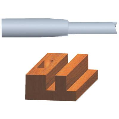 Vermont American Carbide Tip 5/8 In. Straight Bit