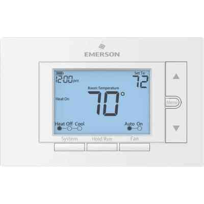 White Rodgers Universal 7-Day Programmable White Digital Thermostat