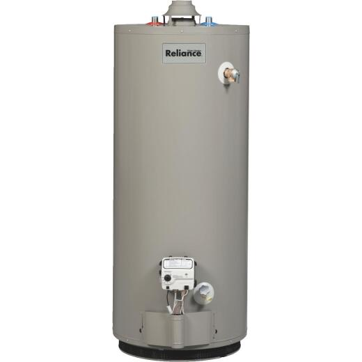 Reliance 40 Gal. Short 6yr 40,000 BTU Liquid Propane (LP) Gas Water Heater