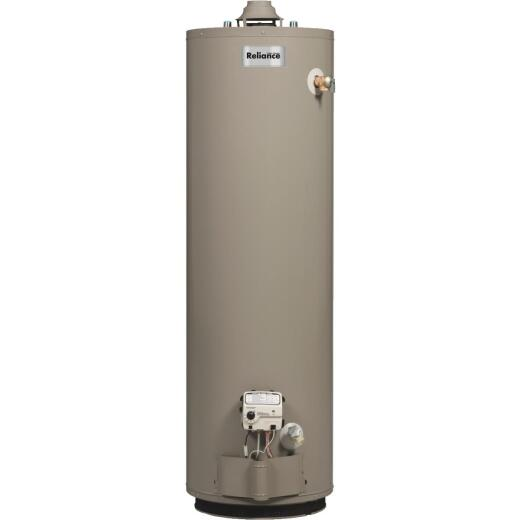 Reliance 40 Gal. Short 6yr 40,000 BTU Natural Gas Water Heater