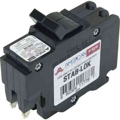 Connecticut Electric 40A Double-Pole Standard Trip Packaged Replacement Circuit Breaker For Federal Pacific
