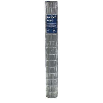 72 In. H. x 50 Ft. L. (2x4) Galvanized Welded Wire Fence